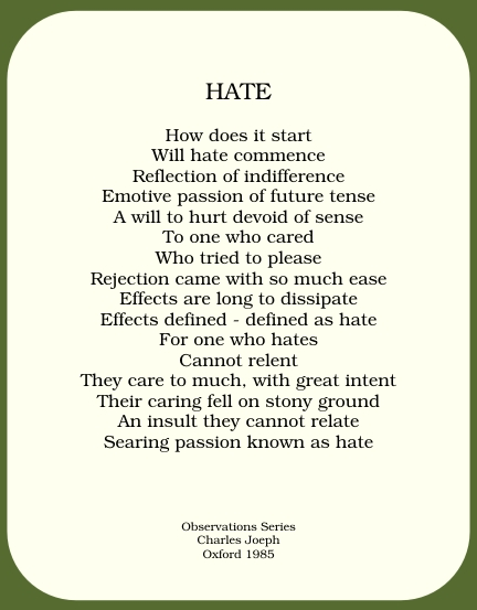 hater poems - photo #1
